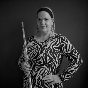 Annette Coelho, Musiklehrerin für Querflöte bei rhythm matters