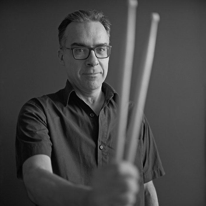 Frank Mellies, Musiklehrer für Schlagzeug bei rhythm matters
