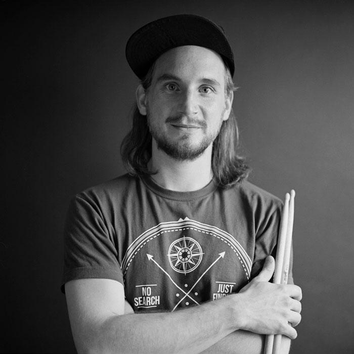 Max Kotzmann, Musiklehrer für Schlagzeug bei rhythm matters