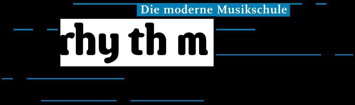 Logo der Musikschule rhythm matters, Krefeld