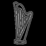 Icon Harfe