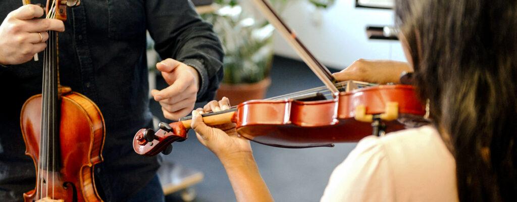 Geigenunterricht bei rhythm matters, Krefelds größter privater Musikschule